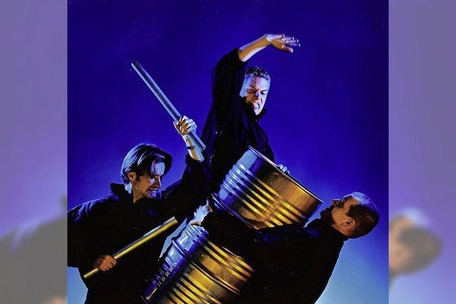 Das Percussion-Ensemble Sisu aus Norwegen ist der Höhepunkt des Tambui-Mundi-Festivals