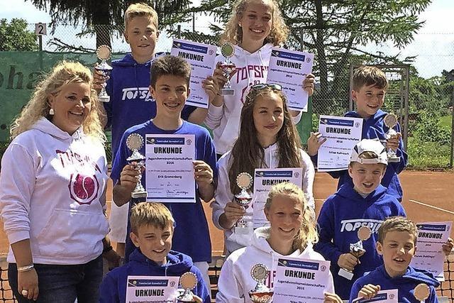 Tennisclub Bonndorf kürt seine Jugendmeister