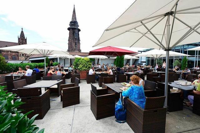 Über der Stadt: Die schönsten Terrassen Freiburgs