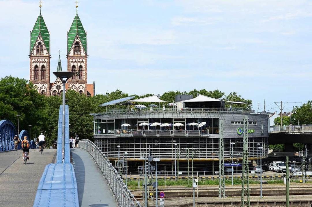 Das Café Hermann bei der Radstation am Hauptbahnhof  | Foto: Ingo Schneider