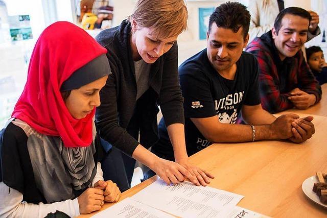Ehrenamtliche Hilfe für Flüchtlinge wird professioneller