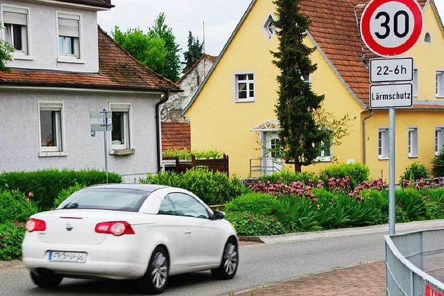Mini-30er-Zone in Heitersheim ist jetzt 150 Meter lang