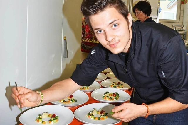 Aromen-Dinner mit jungen Köchen
