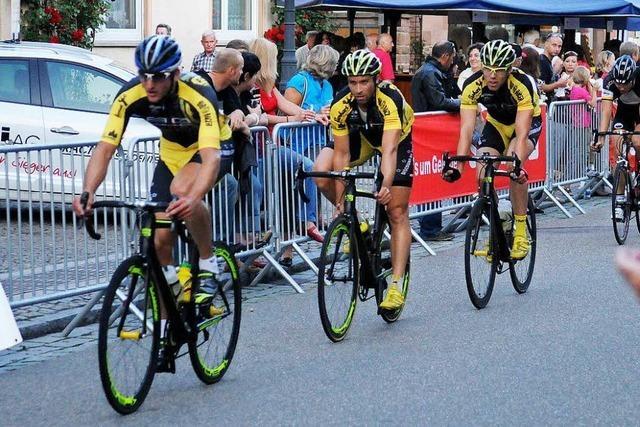 Anspruchsvoller Kurs für Rennradler in Mahlberg