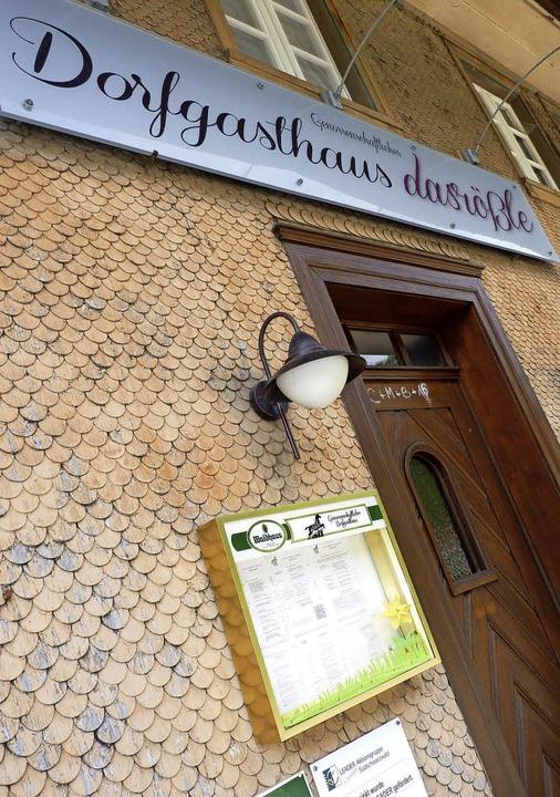 Das Gasthaus hat täglich von 11 Uhr bi...23 Uhr geöffnet. Dienstag ist Ruhetag.  | Foto: Sattelberger