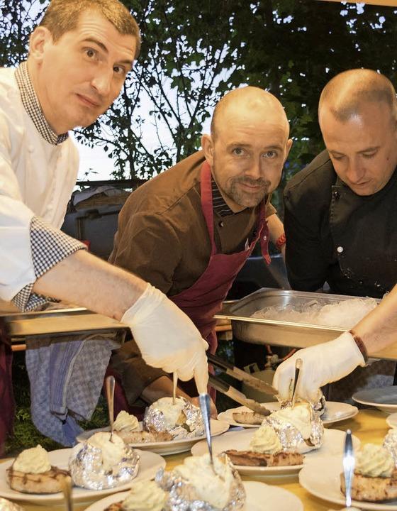 Kulinarische Spezialitäten vom Smoker und Grill.   | Foto: Seifried