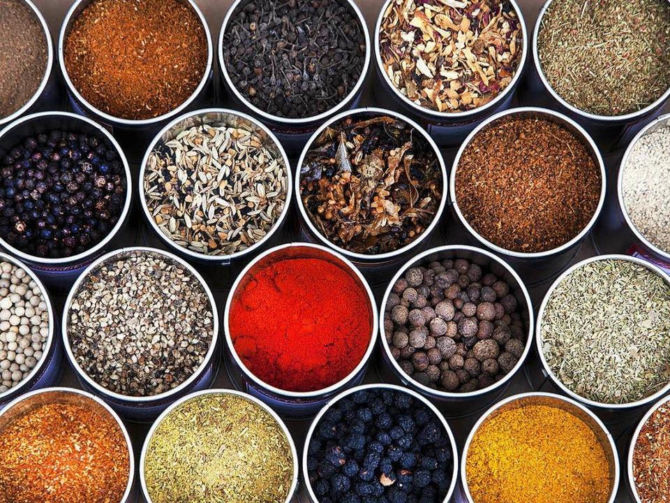 Herrliche Gewürzmischungen aus besten Grundstoffen  | Foto: Michael Wissing BFF