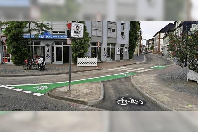 Radler können leichter in Friedrichstraße einbiegen
