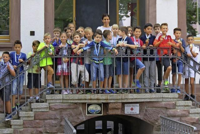 Kinder erlaufen 6669,65 Euro