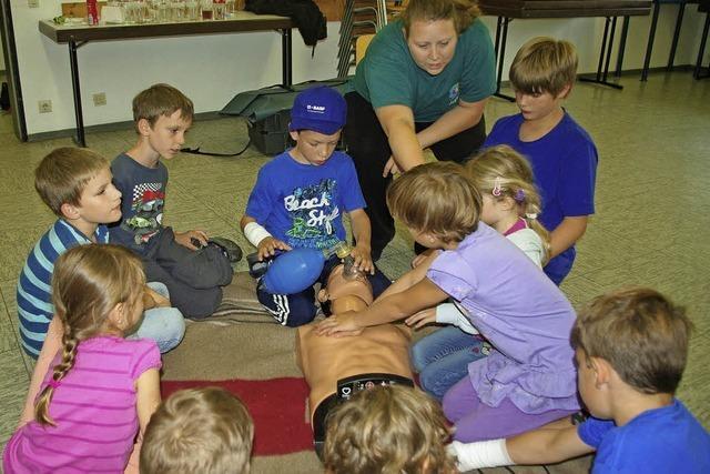 Kinder sollen lernen, einen kühlen Kopf zu bewahren