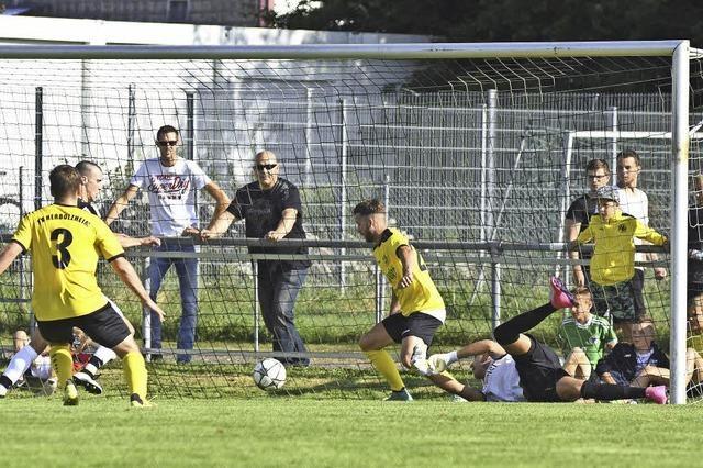 Pokalaus für den FSV Altdorf nach 0:1 im Derby gegen FV Herbolzheim