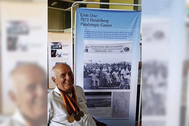 Ausstellung über Vorläufer der Paralympics