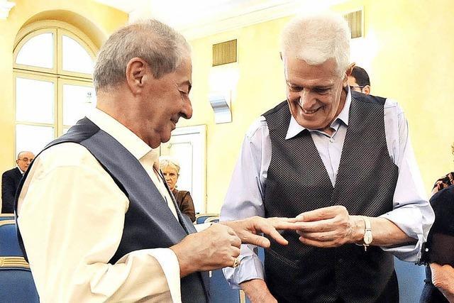 Homosexuelles Paar wartet 50 Jahre auf Hochzeit