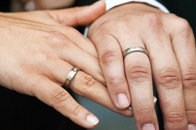 Rekord: 2015 gaben sich in Offenburg 295 Paare das Jawort