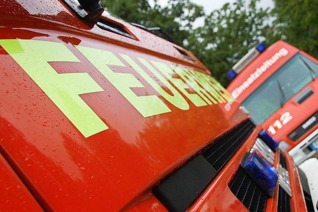 Lörracher Feuerwehr muss viermal ausrücken