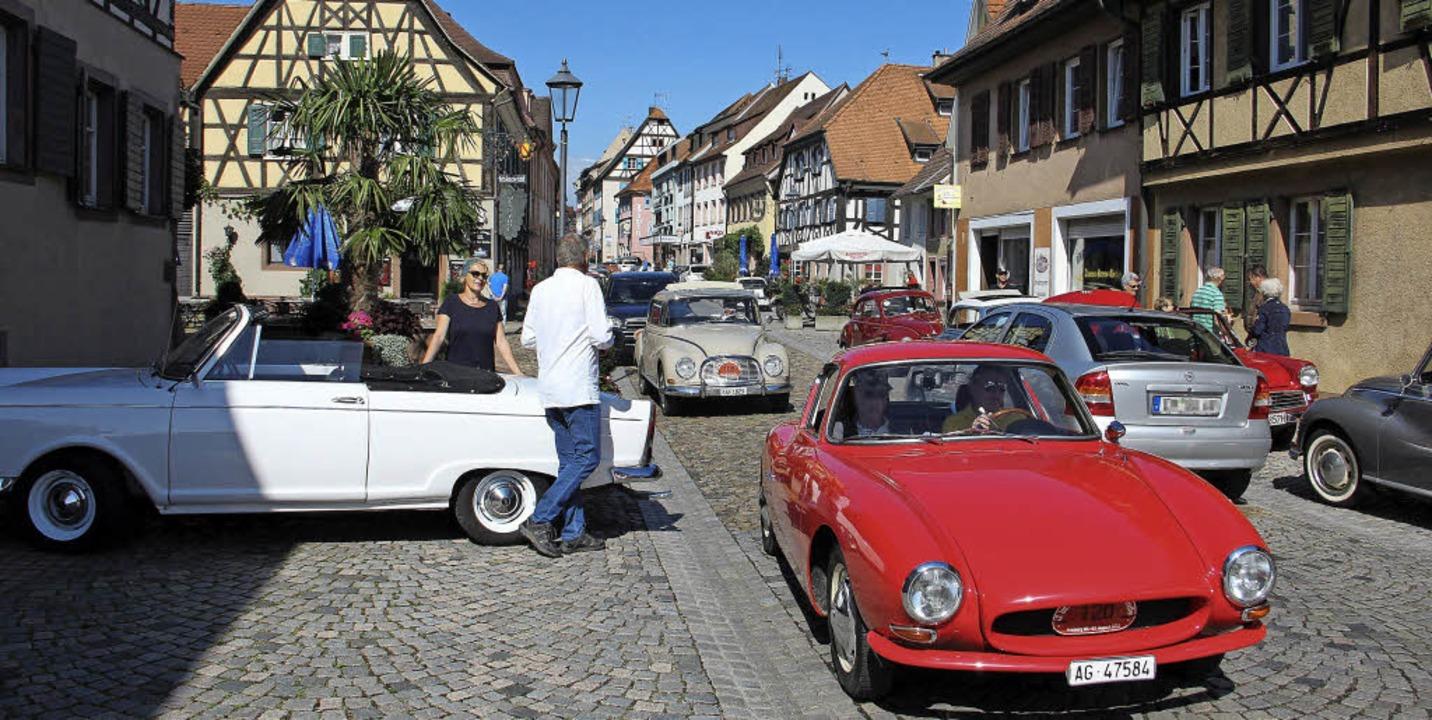Oldtimer-Ausfahrt des Auto-Union-Veteranen-Clubs in Endingen  | Foto: Hans-Peter Ziesmer