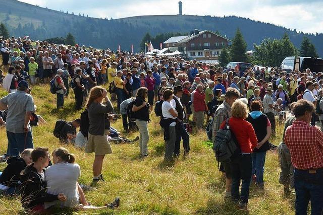 Laurentiusfest – eine Belastungsprobe für den Feldberg