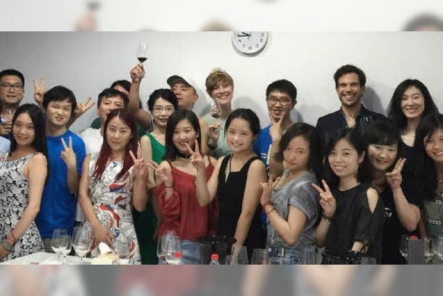 WEINKÖNIGIN AUF TOUR: Mal eben für zehn Tage Asien anschauen