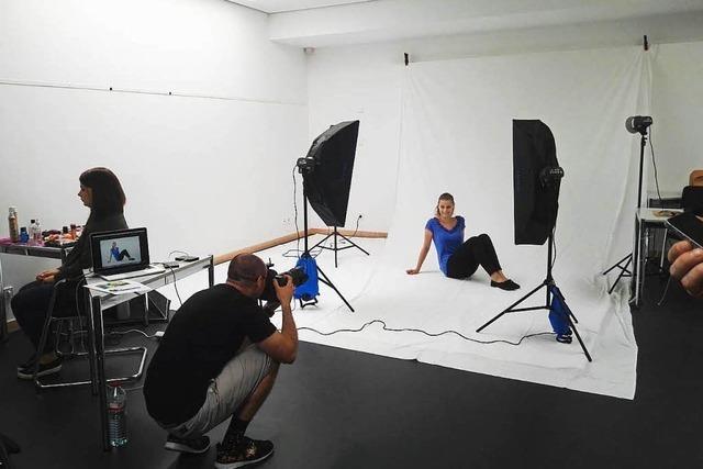 Fotoshooting Werbekampagne Azubis 2016