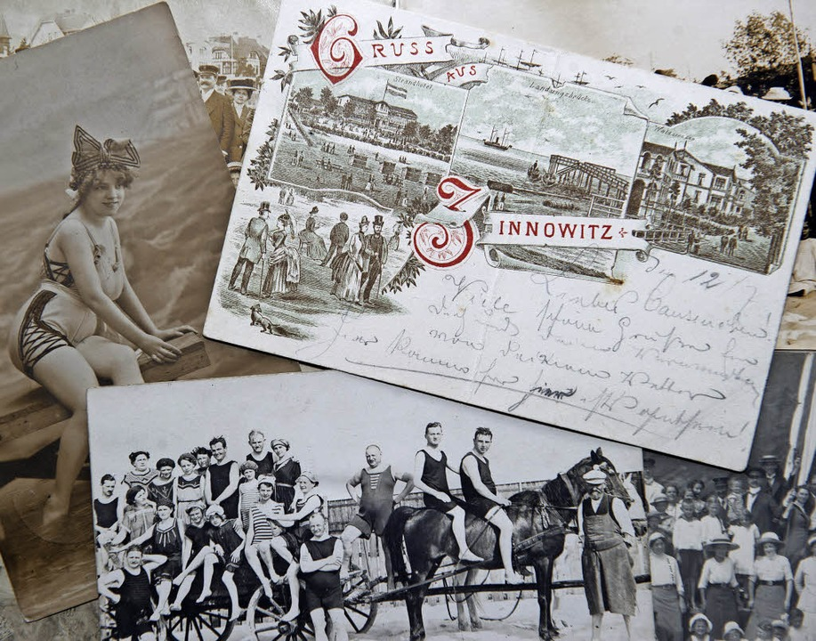 Vieles ist beim Alten geblieben: Historische Postkartensammlung  | Foto: dpa