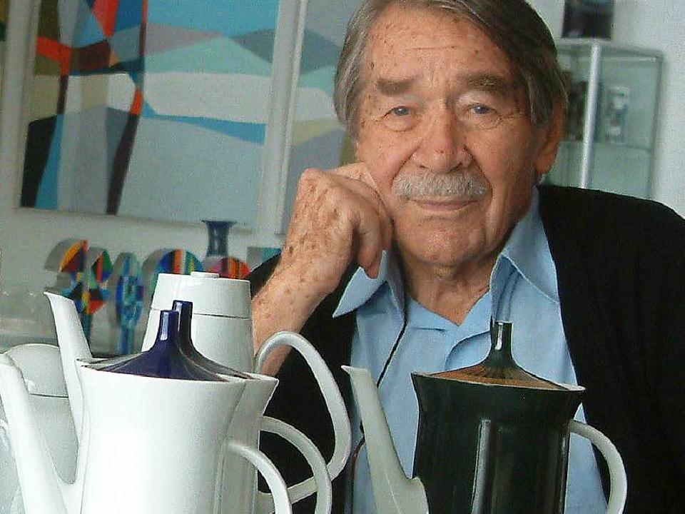 Der große Designer und Schopfheimer Eh...st, hat Design-Geschichte geschrieben.  | Foto: Roswitha Frey