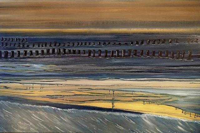 Werke von Werner Kramer: Himmel und Erde. In Höchenschwand