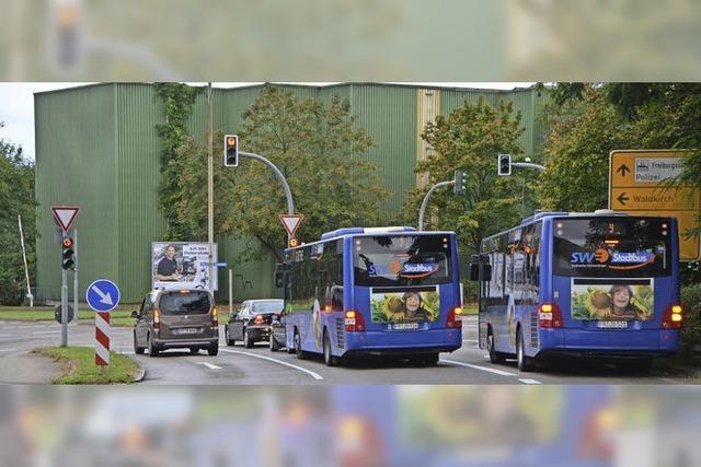 Platz für Radler, Vorrang für Busse