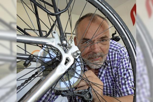 Selbst sein Rad reparieren – mit Hilfe geht das