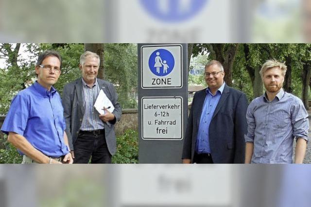 Bad Säckingen wird Modellstadt für den Fußverkehrs-Check