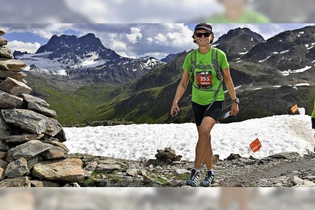 Bergauf und bergab auf 76 Kilometern