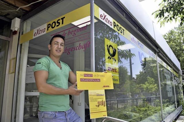 Postfiliale neben ausgebranntem Modellbauladen öffnet wieder