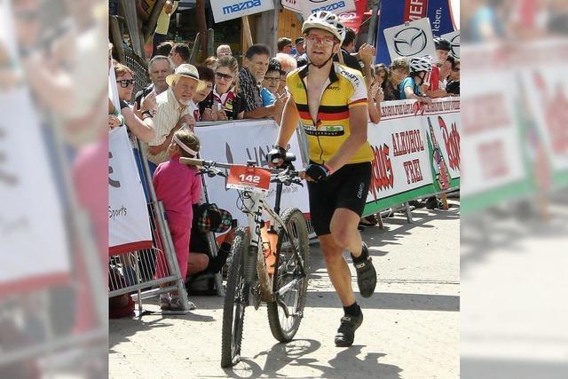 Mountainbike-Etappenfahrt Trans Schwarzwald endet auf dem Feldberg