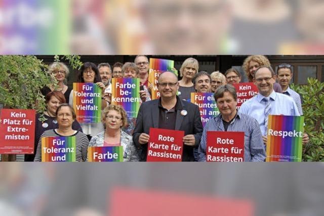 Sternmarsch am 17. September soll Zeichen gegen Rechts setzen