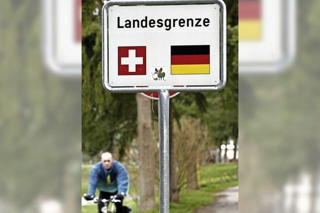 Bei Grenzgängern wird aufgeteilt