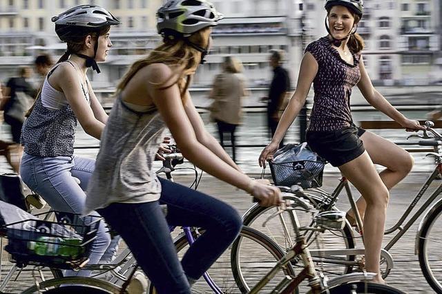 Neuer Wegweiser für Radfahrer