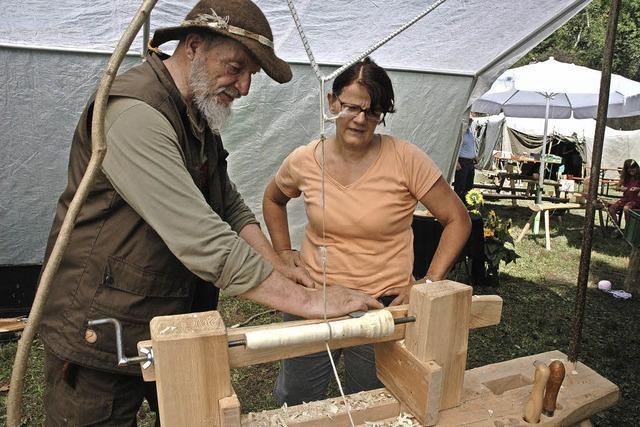 Handwerk lernen im alten Steinbruch