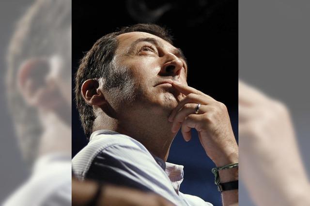 Parteichef der Grünen Cem Özdemir hat sich in der Türkei-Krise als echte Führungsfigur profiliert