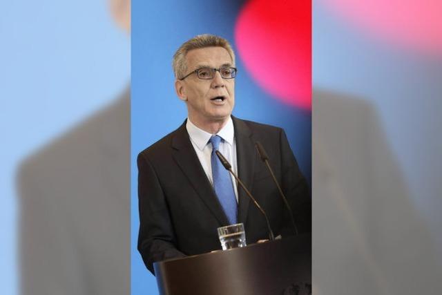 Die SPD könnte de Maizières Katalog gegen Terrorgefahr mittragen