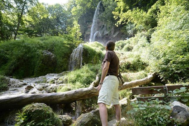 Der schönste Wanderweg liegt in Bad Urach