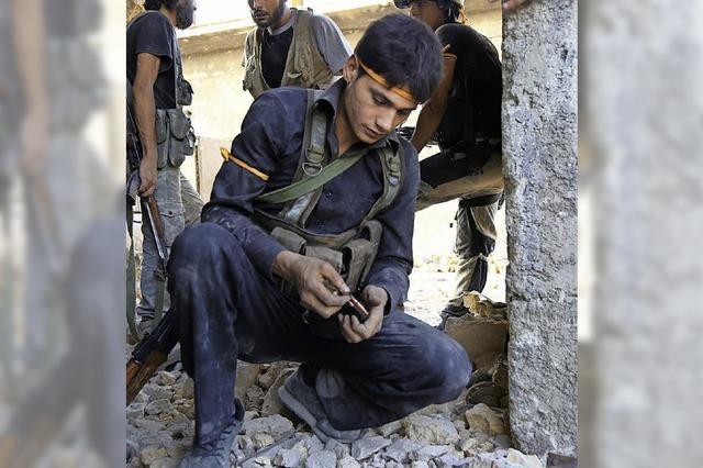 Im umkämpften Aleppo sind etwa zwei Millionen Zivilisten eingeschlossen
