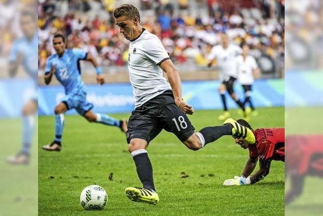 Fußballer treffen im Olympia-Viertelfinale am Samstag auf Portugal