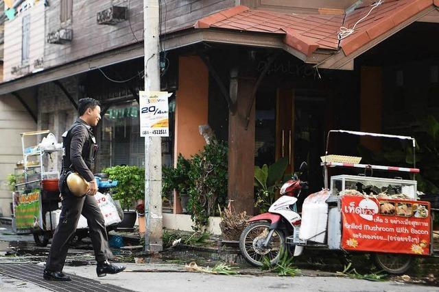 Mindestens vier Tote bei Bombenserie in Thailand – drei verletzte Deutsche