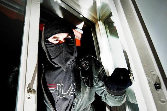 Bad Krozinger hat Handgemenge mit einem Einbrecher