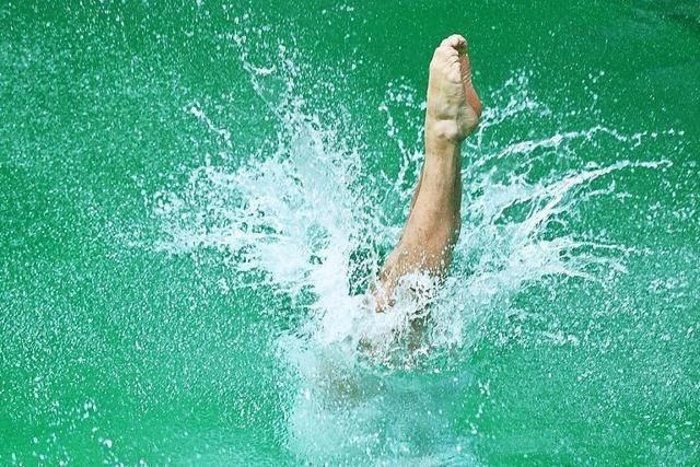 Springer-Becken geschlossen, wohl Probleme mit dem Wasser