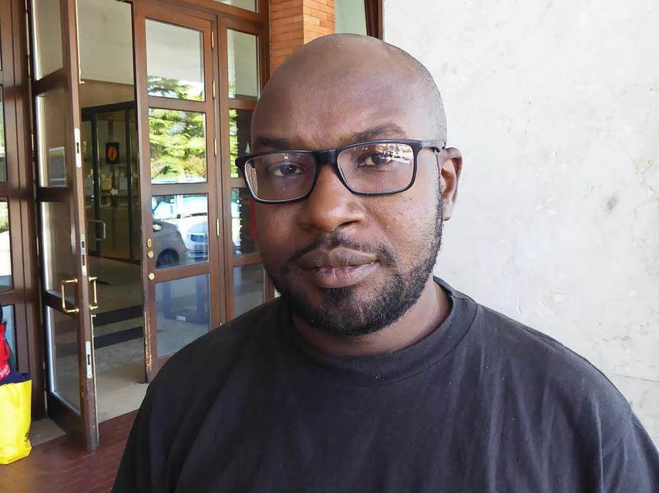 Sabeel aus dem Sudan will nach Frankreich  | Foto: Franz Schmider