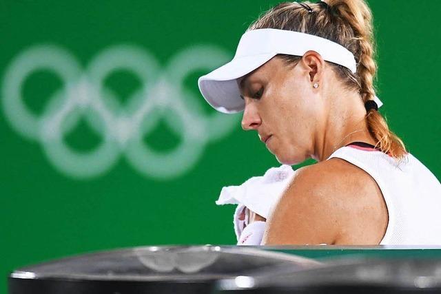 Kerber verliert Rio-Finale gegen Puerto Ricos Spielerin