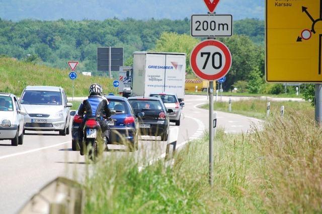 Ölspur verursacht Unfall mit Motorradfahrer