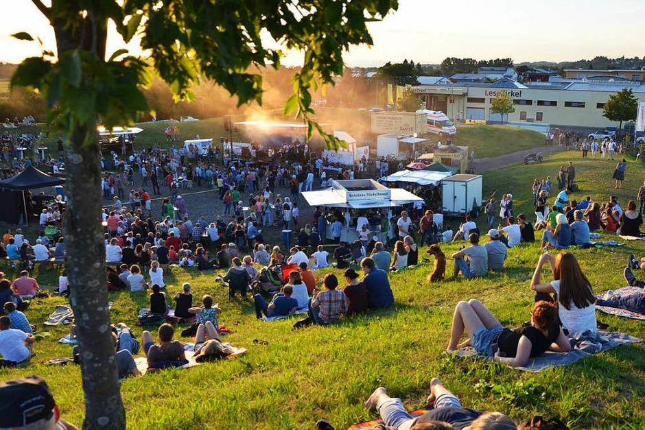 2500 Leute waren beim Come together Festival. Hier hörten sie das Ergebnis des Come together Projekts an. (Foto: Janina Ruth)