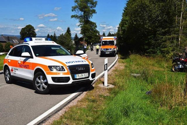 20-jähriger Motorradfahrer stirbt bei Unfall am Thurner