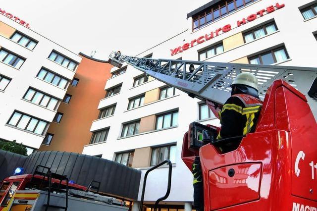 Schwelbrand in Hotel-Sauna